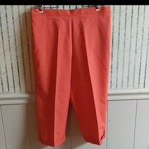 Alfred Dunner Capris Size 10